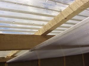 Потолок на пристройку